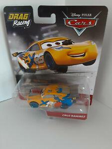 Disney-Pixar-Mattel-Juguete-Cars-3-Drag-Racing-Cruz-Ramirez-51-DIE-CAST-de-coche-de-carreras-A040