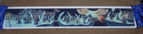 JAMES EADS giclee poster print THE SONG OF SWORDS four panoramas prisma visions