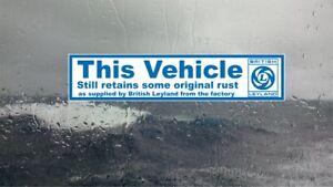 British-Leyland-Funny-internal-window-sticker-classic-car-Triumph-Mini-Morris