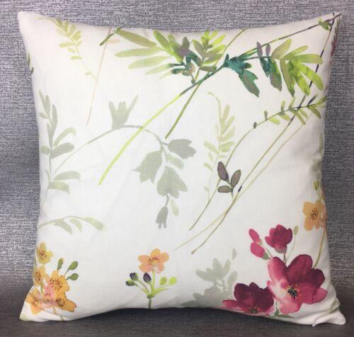 "John Lewis Tisbury Fabric cushion cover 16/""x16/"" Multi Double Sided."