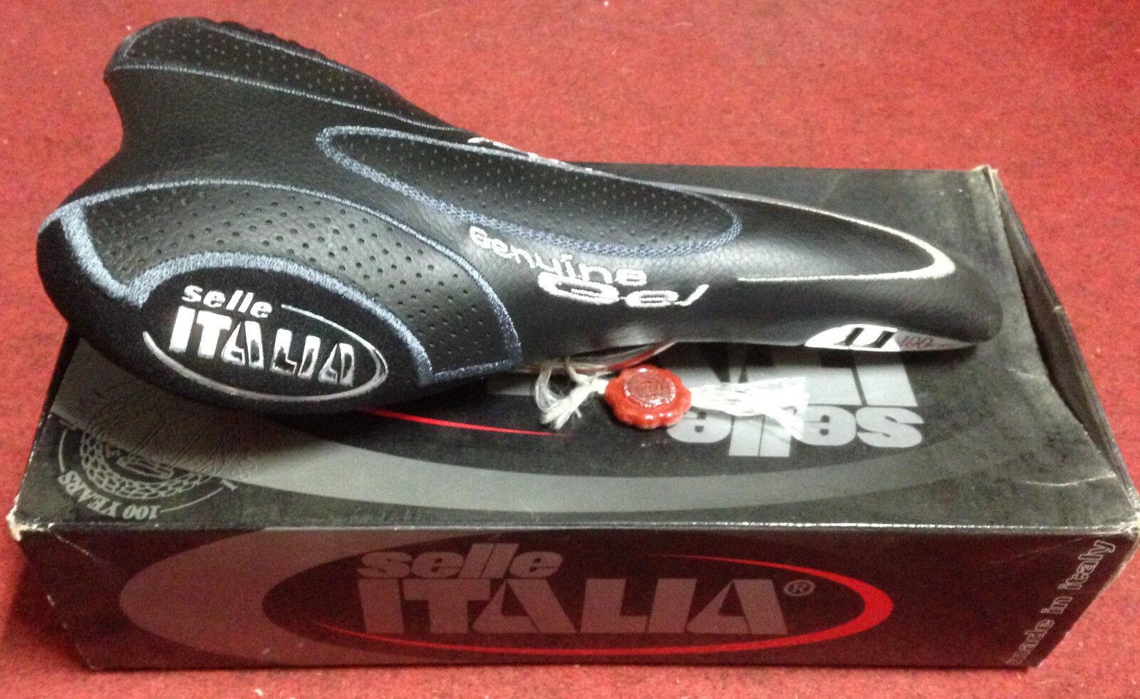 Sella bici Selle Italia Century 100 pelle bike  leather saddle seat madein   for cheap