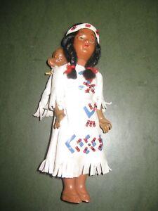 Poupee-indienne-18-cm-Origine-Nevada-1988