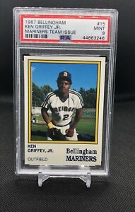1987-Bellingham-Mariners-Team-Issue-15-Ken-Griffey-Jr-RC-Rookie-HOF-PSA-9-MINT