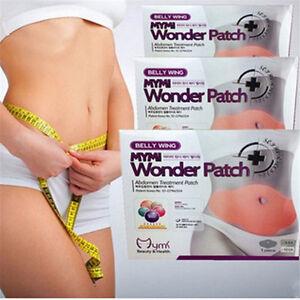 5-Pcs-Wonder-Slimming-Patch-Abdomen-Weight-Loss-Fat-burning-Wing-Slim-Body-New