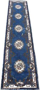 "3x11  Runner Rug Oriental Medallion Floral Size 2/'3/""x10/'10/"" LIGHT Blue P ersian"