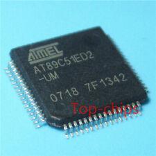 ATMEL AT89C51RC2-SLRIM Microcontroller IC 8-Bit 60MHz 32KB 32K x 8 FLASH 44-PLCC
