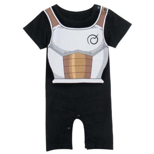Baby Boys Vegeta Costume Romper Newborn Jumpsuit Outfit Sets Infant DBZ Playsuit