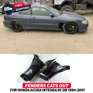 Fenders Cuts Out For Honda Acura Integra DC DB 94-01 Sport Style Body Kit New