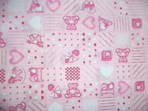 craft fabric  remnant material quilting  1 metre baby pink - Glasgow, East Renfrewshire, United Kingdom - craft fabric  remnant material quilting  1 metre baby pink - Glasgow, East Renfrewshire, United Kingdom