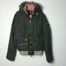 Genuine Superdry British Design Patrol Men Short Hooded Coat Jacket Limited