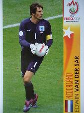 Panini 466 Edwin van der Sar Nederland UEFA Euro 2008 Austria - Switzerland