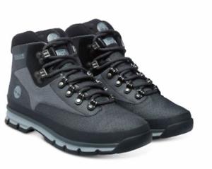 Détails sur Timberland homme bottes euro hiker mid jacquard chaussures A135T gris uk 7 12.5 afficher le titre d'origine