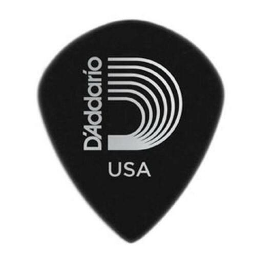 .80mm 10-Pack 3DBK D/'Addario Planet Waves Duralin Picks Black Ice Medium Gauge