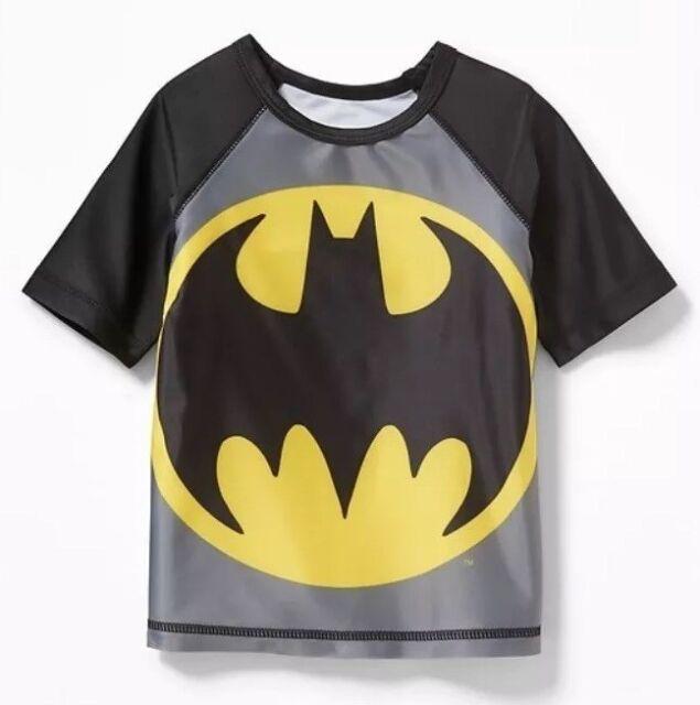 898b6a1cb9 Toddler Boy's Old Navy Batman Swim Top Rash Guard, Size 2T | eBay