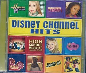 CD-COMPIL-13-TITRES-DVD-CLIP-VIDEO-DISNEY-CHANNEL-HITS-HANNAH-MONTANA-RAVEN