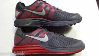MENS NIKE  ZOOM STRUCTURE TRIAX +16  SIZE 13 RED  GRAY