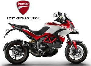 Details about DUCATI Multistrada 1200 / Diavel 1200 - LOST KEYS - HF  immobiliser re-coding