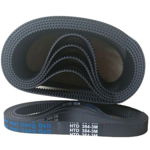 Synchronous Belt 3M-384-12 Electric Scooter Drive Belt HTD384-3M-12 Timing Belt