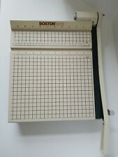 Boston 2612 Paper Cutter 12 Trimmer Heavy Duty Guillotine Usa