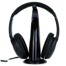 5in1 Wireless Headphone Headset HiFi Monitor FM MIC for Xbox 360 PS4 3 MP3 PC TV