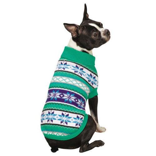 Stinky G Violet Aran Dog Sweater Size #08 XS