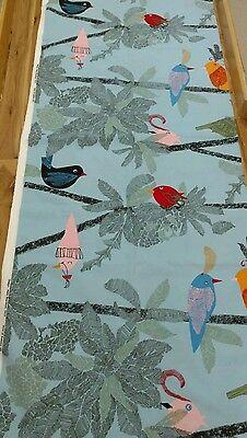 Fabric by ikea  vibrant parrot fabric malin akerblom