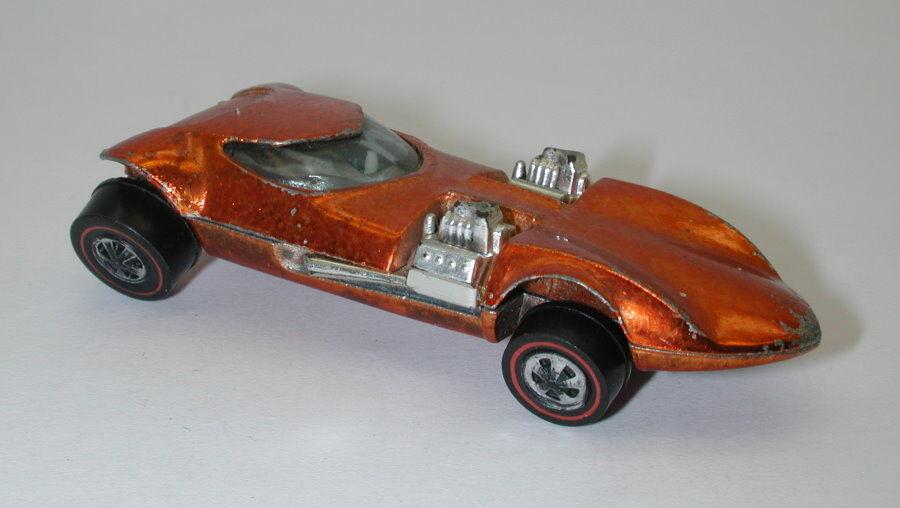 Redline Hotwheels orange 1969 Twinmill oc16439