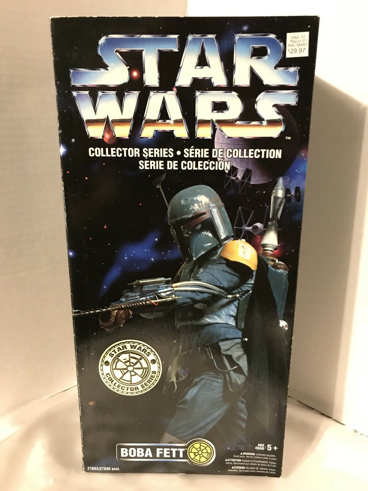RARE Kenner Star Wars Collector Series Boba Fett Multi Language NEW