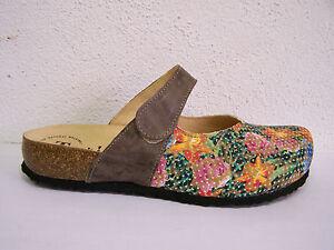 Julia effetto colorato il Shoes Medioevo Per floreale velcro stampa Think credit combi qB7IRFcw5