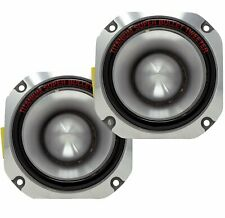 2x Ignite Pro 4'' Titanium Bullet Tweeter Car Pro Super Tweeter PT-01 - 1500W