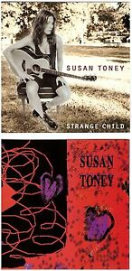 SUSAN-TONEY-s-t-Strange-Child-2-CD-lot-Country-Rock-Pop