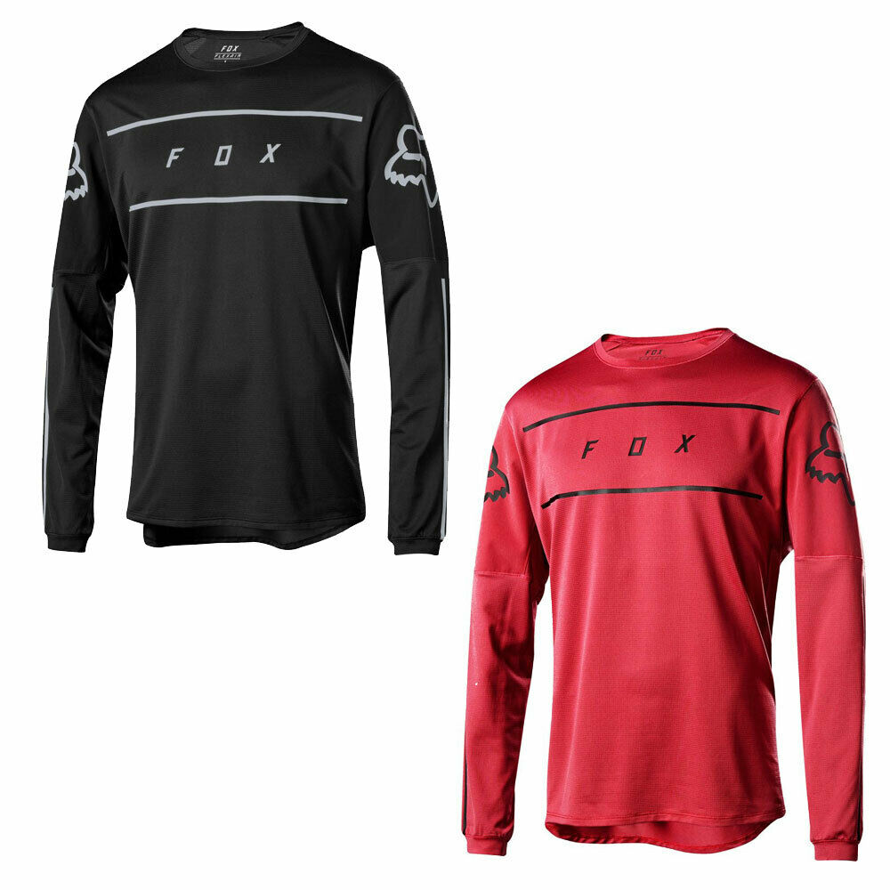 Fox Flexair LS fine linea JERSEY SS19Manica Lunga Top Mountain Bike MTB RACING