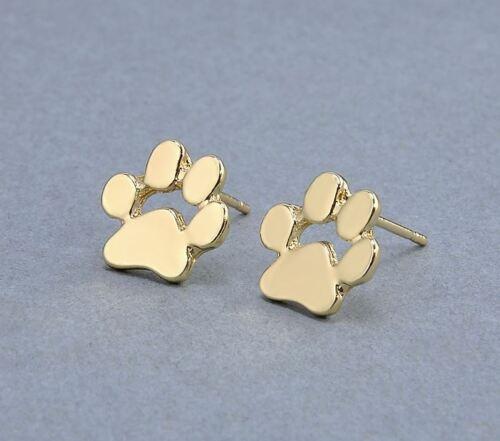 Ohrringe Stecker Hund Pfoten Hundepfoten Pfötchen Dog Paws 2 Varianten