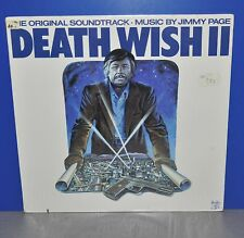 Death Wish II 2 OST Jimmy Page Led Zeppelin 1st USA 82 sealed Swan Song Vinyl LP
