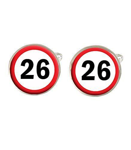 100% De Calidad 26 Señal De Tráfico Para Hombre Gemelos 26th C508 Ideal Regalo De Cumpleaños-ver Suave Y Suave