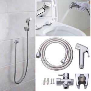 ABS-Douchette-Toilette-Bidet-Douchette-Pomme-Pulverisateur-WC-Salle-de-Bain
