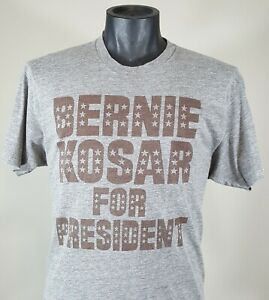 b8effdfb765 BERNIE KOSAR FOR PRESIDENT T-Shirt Mens L Ckeveland Browns Vtg Retro ...