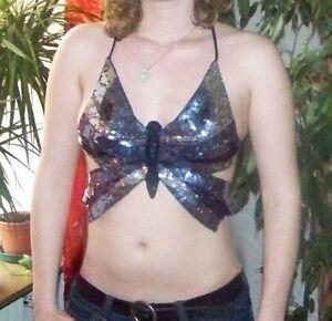 Super-sexy-top-mariposa-NUEVO-TALLA-S-M