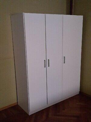 Ikea Armadi Guardaroba Offerte.Armadio Guardaroba Ikea Mod Dombas Bianco Ebay