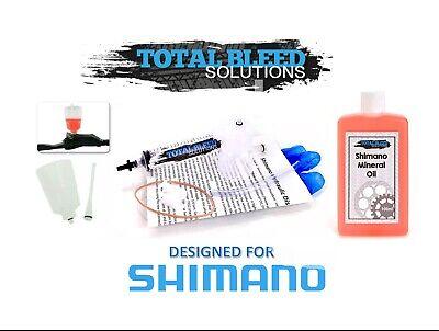 TBS SHIMANO Entonnoir Purge /& Kit Origine SHIMANO Huile Minérale pour tous les modèles