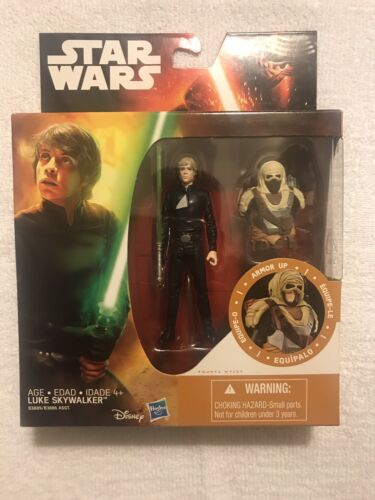 "Star Wars Return of the Jedi 3.75/"" Armor Pack Luke Skywalker Figure"