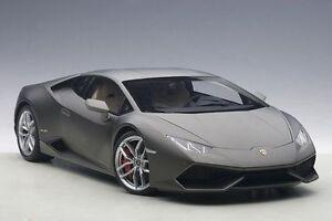 1:18 Autoart Lamborghini Huracan Lp610-4 Grigio Titans / Mat Gris)