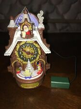 Santa's Magic Cuckoo Clock Hallmark Ornament 2015 Keepsake RETIRED