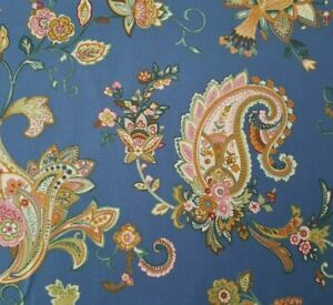 Parisian-Paisley-BTY-Marie-Osmond-Quilting-TreasuresFloral-Pink-Green-Dusty-Blue