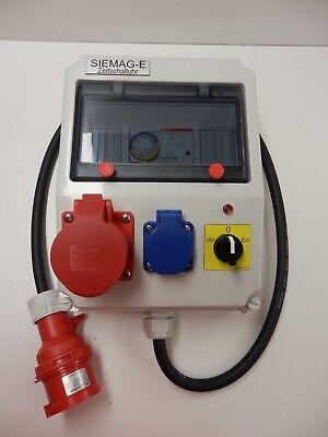 VertrauenswüRdig Wasserpumpe - Zeitschaltuhr Für Kraftstrom 16a-400v Auch In 32a Lieferbar !! Um Jeden Preis