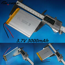 3.7V 3000mAh Li-Polymer Battery PCM Rechargeable 357090 For Tablet PC U25GT
