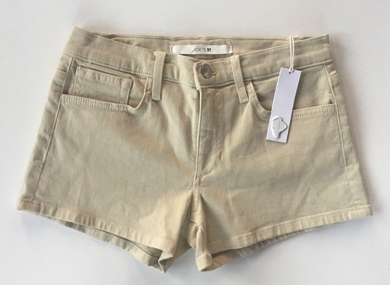 Women's Joe's Jeans Light Stone Beige 3  Denim Shorts-Sz 27 (run small)