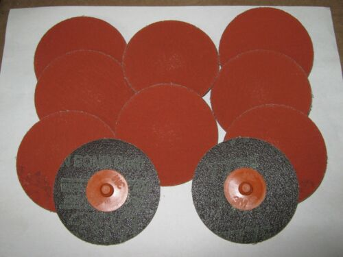 "New 3/"" Diameter Lot of 10 76633 3M 777F  Polycut Roloc Discs 60YF Grade"