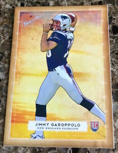 JIMMY-GAROPPOLO-RC-2014-TOPPS-TURKEY-RED-NO-26-ROOKIE-NEW-ENGLAND-SF-49ERS-MINT
