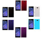 Hard Rubberized Matte Plastic Snap-On Cover Case For Sony Xperia M2 / Dual S50h